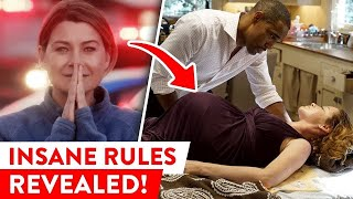Strict Rules The Cast Of Greys Anatomy Has To Follow | ⭐OSSA