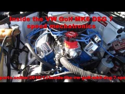 Inside the VW Golf MK6 DSG 7 speed mechatronics - смотреть