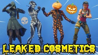 *NEW* Leaked Fortnite Skins & Emotes..!! *SPOOKY* (Female Skull Trooper)