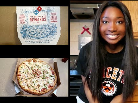 Domino's Large Pizza Speed Eating Challenge