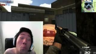 Korean Gamer Goes Crazy!! HILARIOUS!! LOL