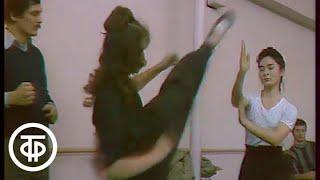 Вокруг света. Тренировка в секции джит кун-до Сергея Шкаева (1990)