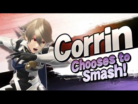 Corrin Trailer Analysis by ZeRo - Smash Bros Wii U