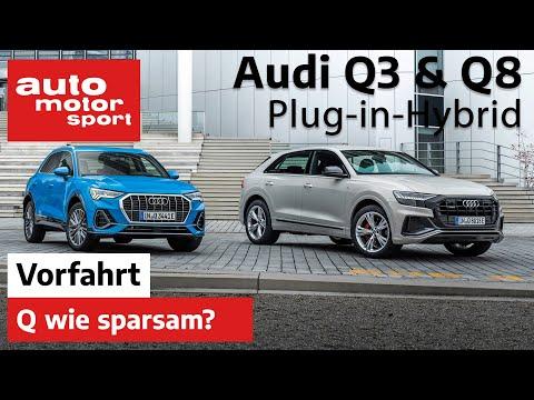 Audi Q3 und Q8 PHEV (2020): Wie sparsam sind die Hybride? - Fahrbericht I auto motor und sport