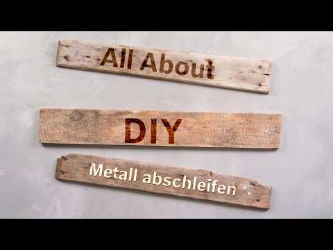 Videotutorial Metall Schleifen Und Lackieren Werkzeug Technik