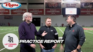 Practice Report: CFP rankings reaction, Ohio State health update