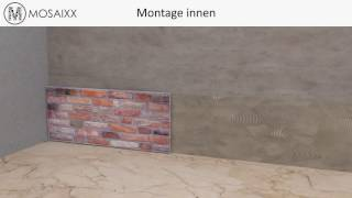 Montagevideo Trendline Wandpaneel – Mosaixx