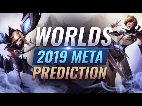 2019 World Championship META PREDICTIONS - League of Legends Season 9
