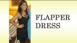 How To Make Your Own Flapper Dress DIY Costume 1920s