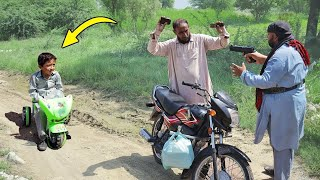 bicycle wala aur Daaku  || Social Message Short Film by PEEP PEEP