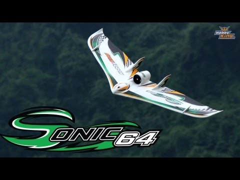hobbyking-product-video--sonic-64-edf-wing-epo-1230mm-pnf