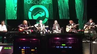 Foreigner Acoustic That's Alright Mama Westbury NY 2/11/16