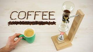 DIY Vacuum Coffee Maker out of Light Bulbs