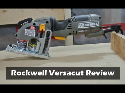 Rockwell Versacut Mini-Circular Saw Review