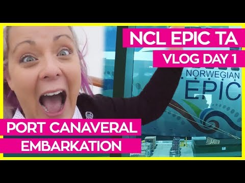 Norwegian Epic Transatlantic Haven Trip | Cruise Vlog Day 01