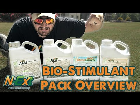 N-Ext Bio Stimulant Package Overview // RGS + Air8 + Humic12 + MicroGreene