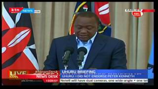 President Uhuru sents stern warning to those planning to cause violence during party primaries