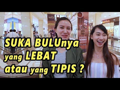 SUKA BULU YANG LEBAT APA TIPIS ? | SOSIAL EKSPERIMEN INDONESIA