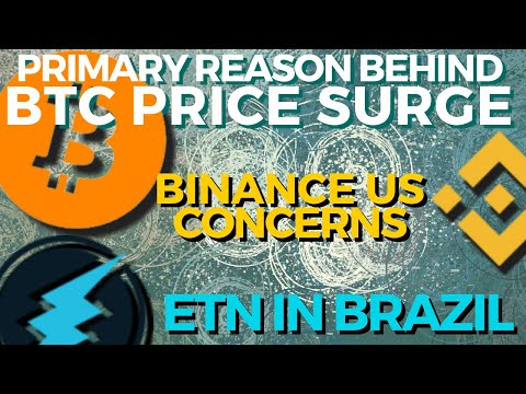 Why is BTC Price Surging? Binance US Concerns | Electroneum in Brazil | bitcoin news