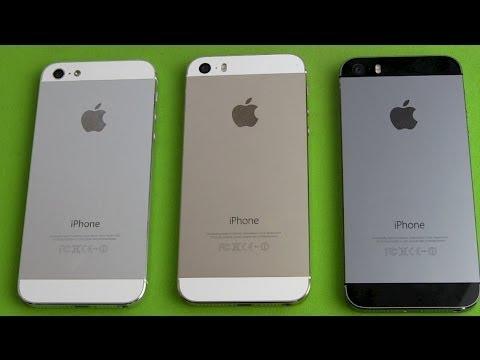 iPhone 5s Silber vs Gold vs Schwarz - Farben Vergleich