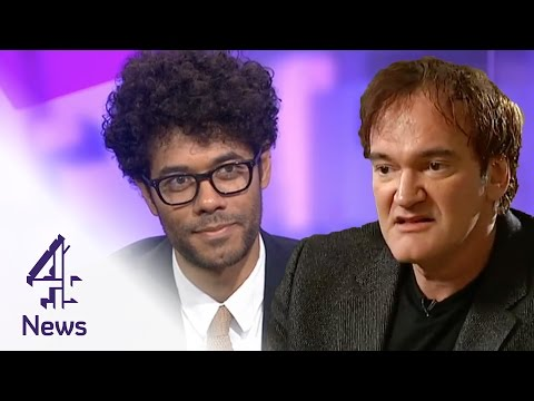 How to ace a TV interview: by Richard Ayoade & Quentin Tarantino | Channel 4 News