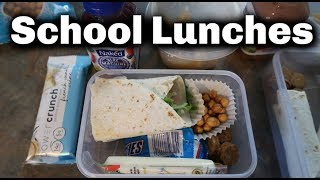 What my Kids Eat for Lunch | Back to School Lunch Ideas | August 2019