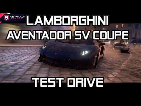 Lamborghini Aventador SV Coupe Test Drive