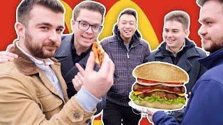 做老干妈汉堡给美国路人吃,他们会觉得比麦当劳汉堡好吃吗?