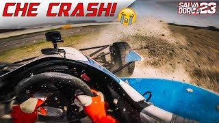 CRASH AT THE FIRST TEST FORMULA PREDATORS - LIKE A SIR CAR