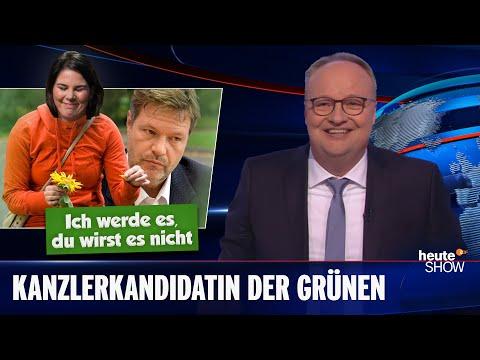 Annalena Baerbocková: Nejmladší kancléřka v historii Německa? - heute show