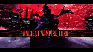 Skyrim LE - Colorful Magic Ancient Vampire Lord -Boss Battle-