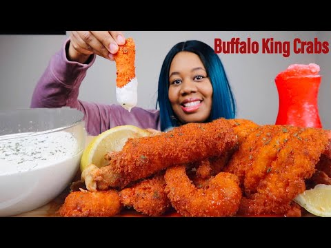 BUFFALO KING CRABS, BUFFALO LOBSTER, TRY NOT TO DRINK CHALLENGE