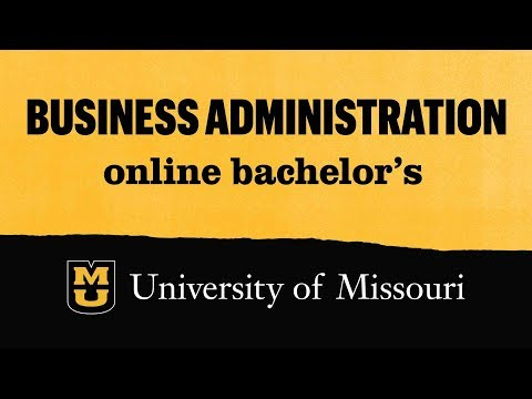 Business administration: Online Bachelor's Degree - YouTube