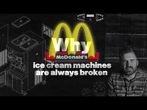 De ECHTE reden dat McDonalds-ijsmachines altijd kapot zijn