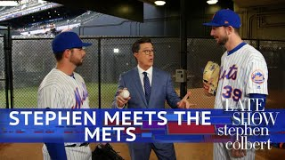 Stephen Visits The NY Mets With Ideas For Modernizing Baseball