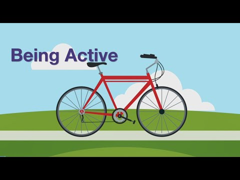 Thumbnail of Being Active video.