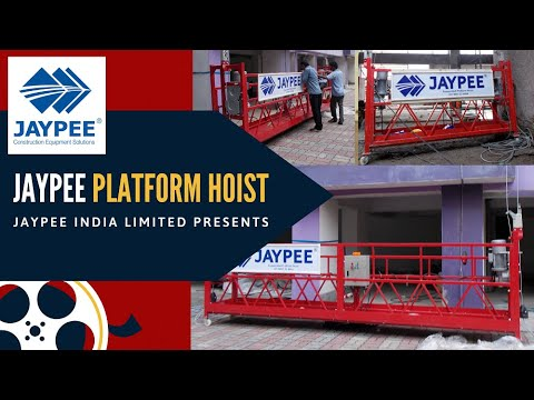 Suspended Rope Platform