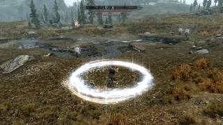 Skyrim mod demo - Magnus Magic: Circle of Protection fixed to include its unused stagger effect.