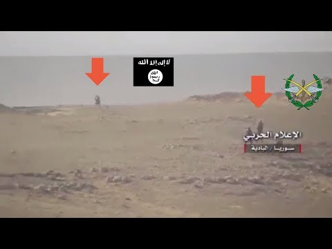 SAA inches away from ISIS combat footage - Syria War 2017