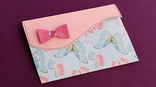 How To Make File Folder\DIY File Folder Craft Idea