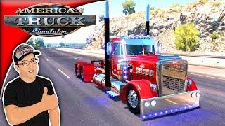 American Truck Simulator Mods PeterBullet 359 Mod Review