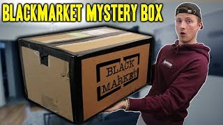 BUYING A BLACK MARKET MYSTERY BOX! (WON'T BELIEVE WHAT IS INSIDE!!)