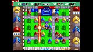 Neo Bomberman Gameplay Nivel 1-5 [Batalla]