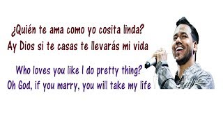 Aventura - La Boda Lyrics English and Spanish - Translation & Meaning - Letras en ingles