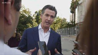 Gov. Gavin Newsom recall efforts seeking signatures in California