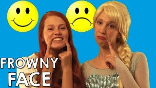 Smiles - No one likes a Frowning Face | Disney Princess Sing-a-long nursery rhymes | Action Song