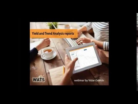 Yield and Trend Analysis reports-webinar