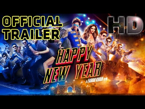 Happy New Year | Official Trailer | Shah Rukh Khan | Deepika Padukone