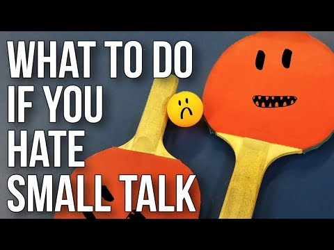 Learning to Deal With Small Talk