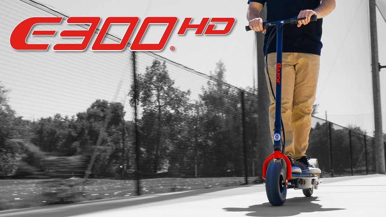 Razor Presents: E300 HD Electric Scooter